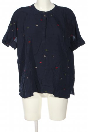 Only Schlupf-Bluse Allover-Druck Casual-Look