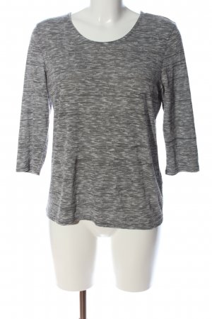 Only Schlupf-Bluse hellgrau meliert Casual-Look