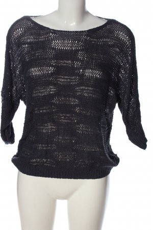 Only Crochet Shirt black casual look