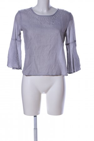 Only Schlupf-Bluse lila Casual-Look