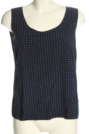 Only Blusentop blau Allover-Druck Casual-Look