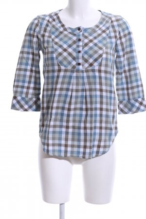 Only Schlupf-Bluse Karomuster Casual-Look