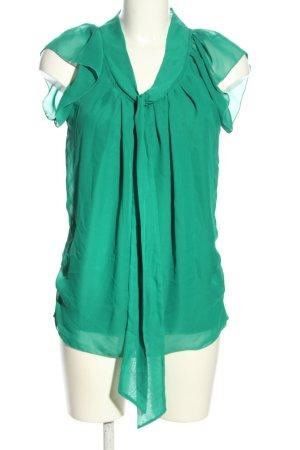 Only Tie-neck Blouse green elegant