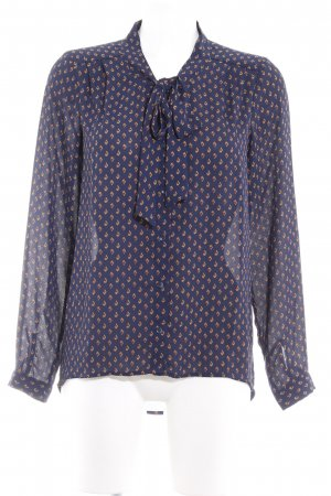 Only Schluppen-Bluse abstraktes Muster Casual-Look