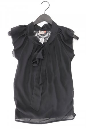 Only Blusa con lazo negro Poliéster