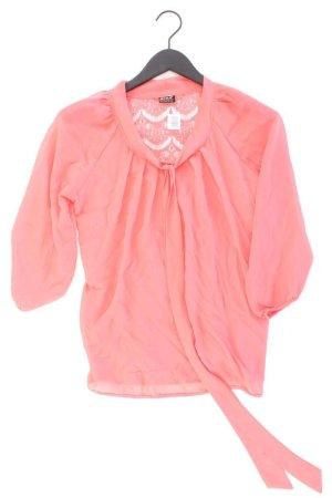 Only Schluppenbluse Größe 38 3/4 Ärmel pink aus Polyester