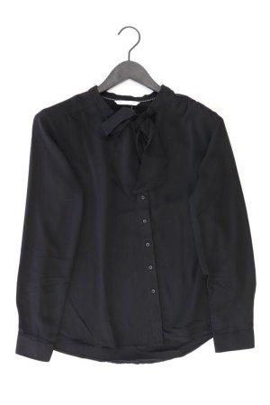 Only Schluppenbluse Größe 38 Langarm schwarz aus Polyester