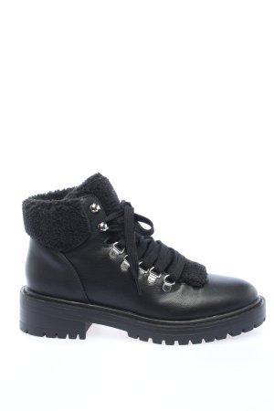 Only Bottes à lacets noir style décontracté