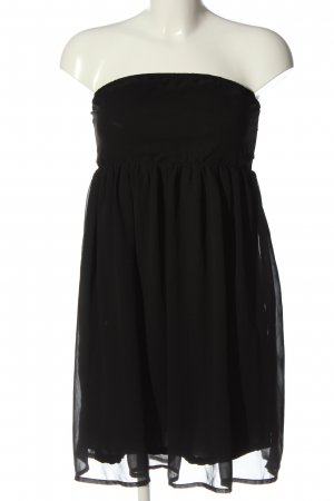 Only Sukienka bez ramiączek czarny Elegancki