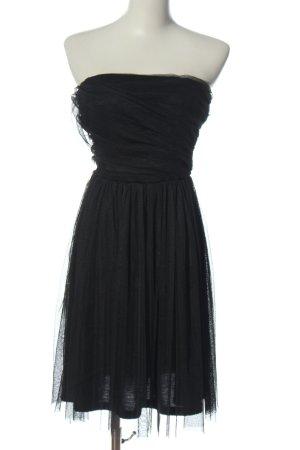 Only schulterfreies Kleid schwarz Elegant