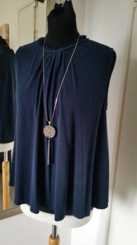 Only sehr süßes Blusenshirt Viskose Marineblau Gr. M