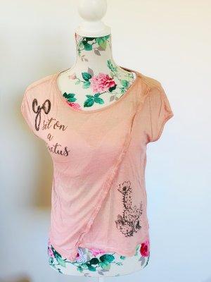 Only T-shirt stary róż