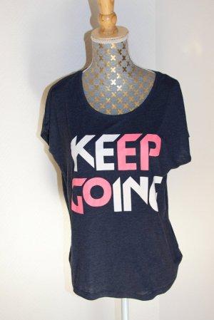 "Only Shirt Gr. XS oversize ""Keep going"""