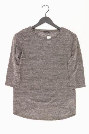 Only Shirt Größe S 3/4 Ärmel mit Glitzer gold aus Polyester