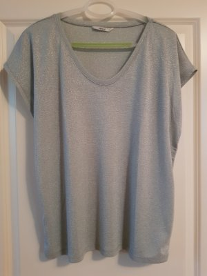 Only T-shirt szaro-zielony