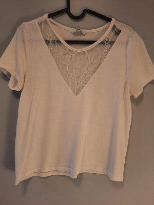 Only Shirt mit tollem Ausschnitt