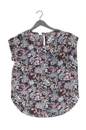 Only Shirt schwarz Blumenmuster Größe 42