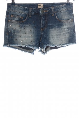 Only Shorts blau Casual-Look