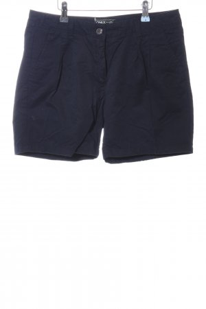 Only Shorts blau Business-Look