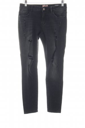 Only Skinny Jeans schwarz Party-Look