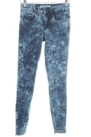 Only Skinny Jeans blau-türkis Street-Fashion-Look