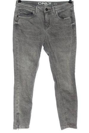 Only Skinny Jeans hellgrau Casual-Look