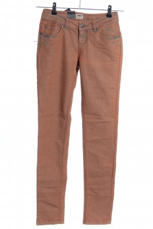 Only Skinny Jeans braun Casual-Look
