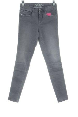 Only Skinny Jeans grau Casual-Look