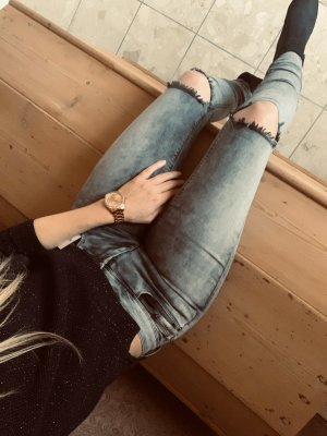 Only Skinny Jeans, grau-hellgrau