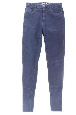 Only Skinny Jeans Größe 34 blau aus Baumwolle