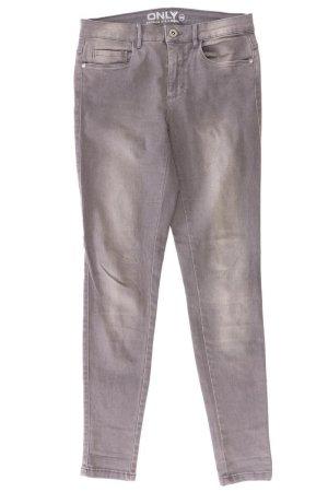 Only Skinny Jeans Größe M grau aus Baumwolle