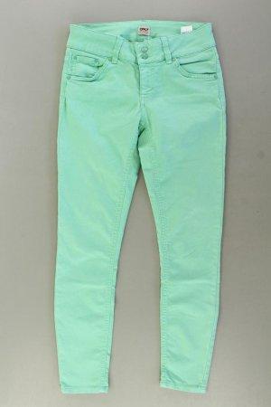 Only Skinny Jeans Größe S grün aus Baumwolle