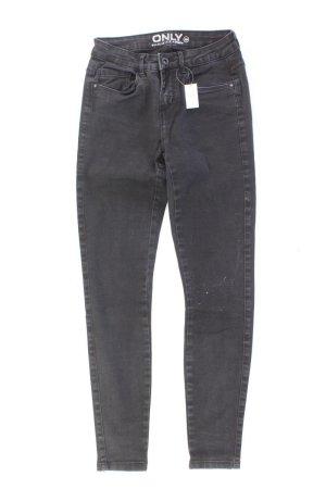 Only Skinny Jeans Größe S/L30 grau aus Baumwolle
