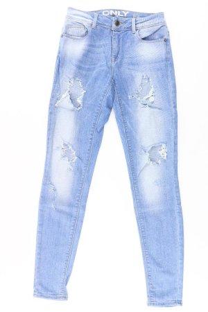 Only Skinny Jeans Größe W26/L32 blau aus Baumwolle