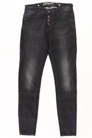 Only Skinny Jeans Größe W28/L34 schwarz aus Baumwolle