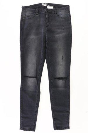 Only Skinny Jeans Größe W30/L32 grau aus Baumwolle
