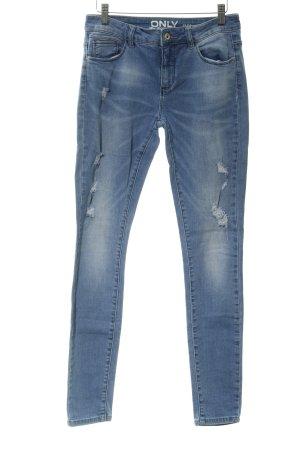 Only Skinny Jeans himmelblau-graublau Casual-Look