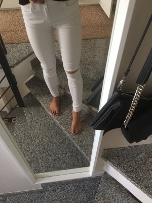 Only Skinny Jeans in Weiß