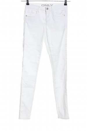 Only Skinny Jeans weiß Casual-Look