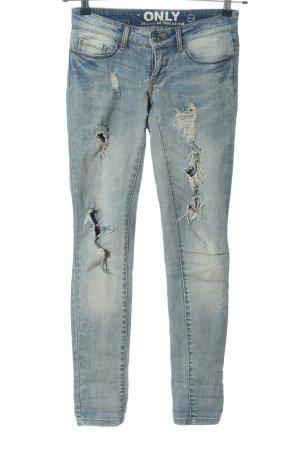 Only Slim blue Jeans blau Casual-Look