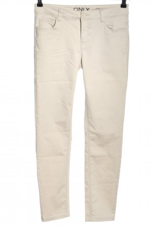 Only Slim Jeans wollweiß Casual-Look