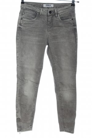 Only Slim Jeans hellgrau Casual-Look