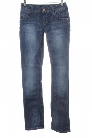 Only Slim Jeans blau Farbverlauf Casual-Look