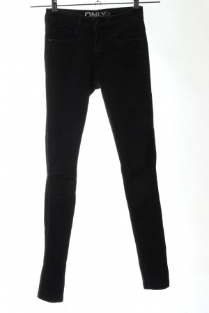 Only Slim Jeans schwarz Casual-Look