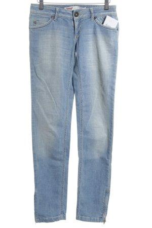 Only Slim Jeans hellblau Street-Fashion-Look