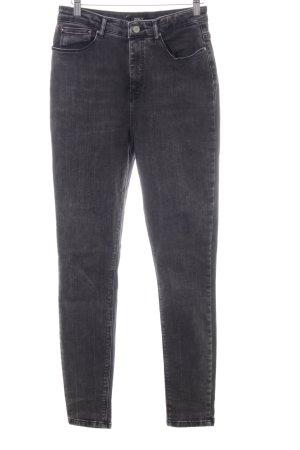 Only Slim Jeans schwarz, Highwaist, Grösse 30/34