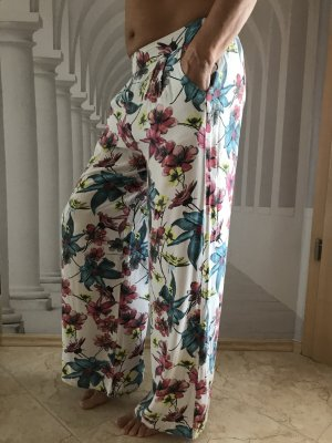 Only Fashion Pantalone palazzo multicolore Viscosa