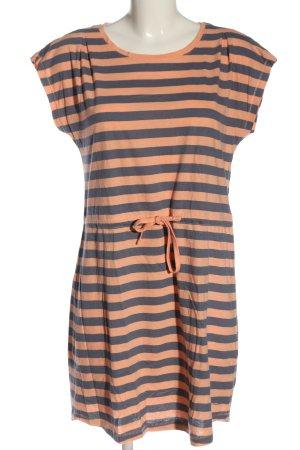 Only Robe d'été rose chair-gris clair imprimé allover style décontracté