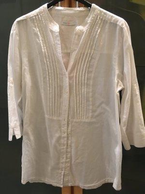 Only Blouse longue blanc coton