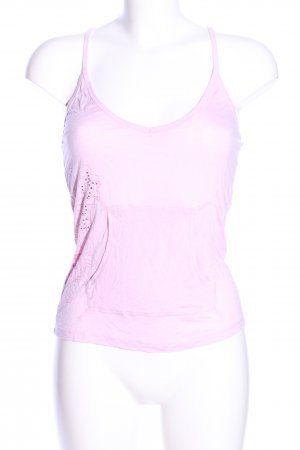 Only Spaghettiträger Top pink abstraktes Muster Casual-Look